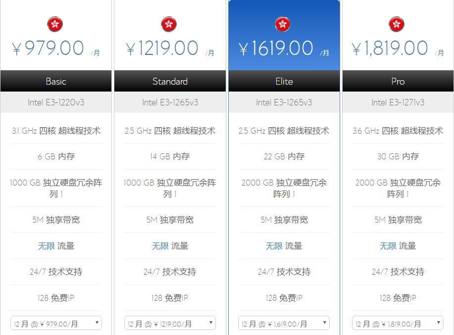 BlueHost香港站群服务器方案