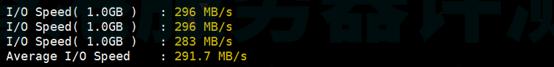 Bluehost美国SSD服务器IO硬盘读写能力