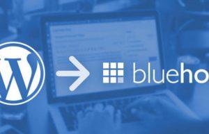 BlueHost WordPress迁移
