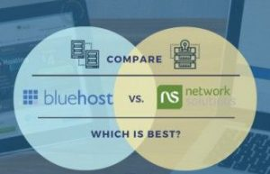 Bluehost和Network Solutions