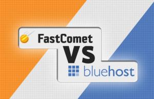 BlueHost和FastComet对比