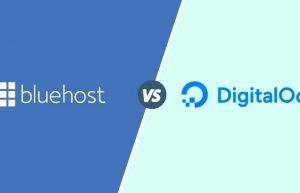 BlueHost和DigitalOcean