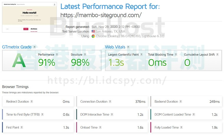 BlueHost和SiteGround比较